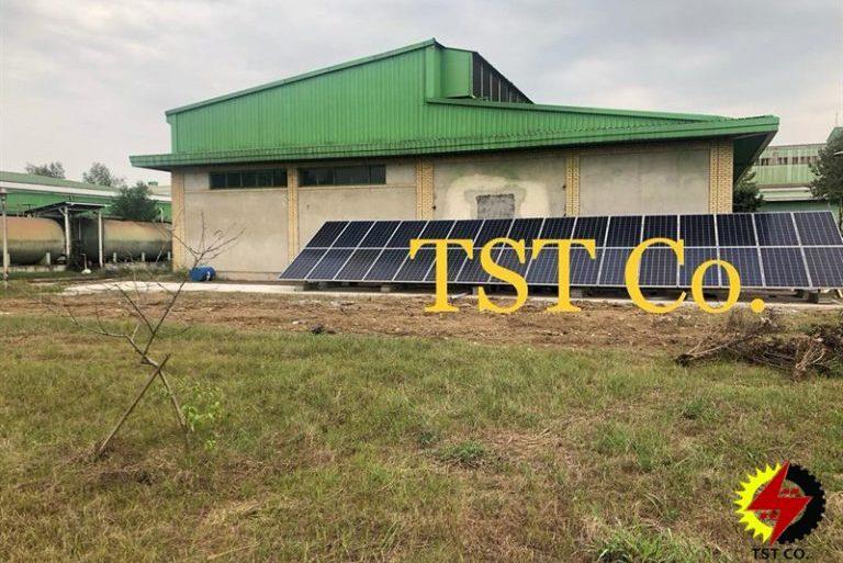 مشاوره و طراحی ،تامین تجهیزات و اجرای نیروگاه خورشیدی متصل به شبکه ۱۰کیلوواتی بانک مرکزی جمهوری اسلامی