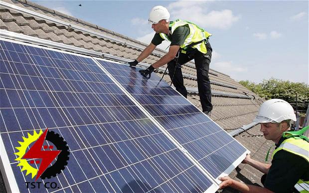 آشنایی با نحوه نصب سیستم خورشیدی