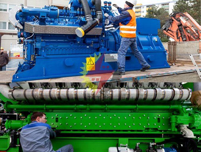 نصب و راه اندازی ژنراتورهای گازسوز