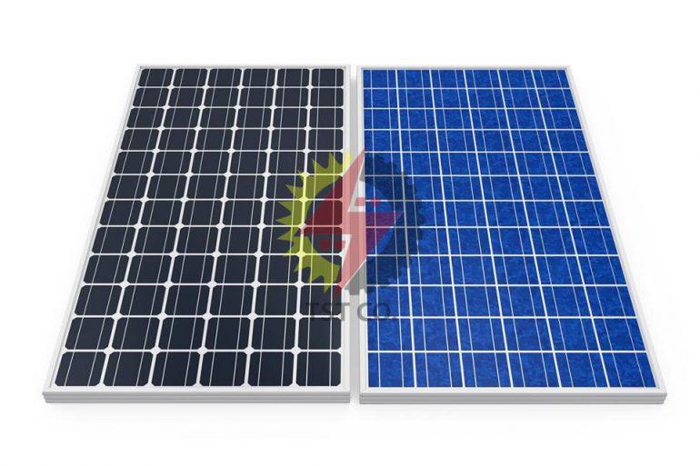 مقایسه پنل های خورشیدی مونو کریستال و پلی کریستال