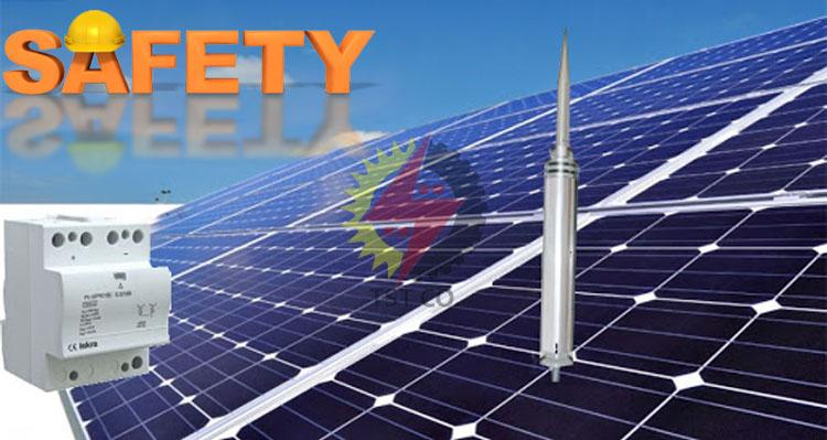 ایمنی و حفاظت سیستم های فتوولتائیک