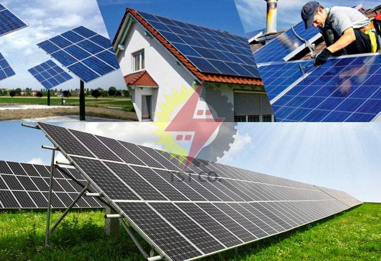 معرفی انواع نیروگاه های خورشیدی